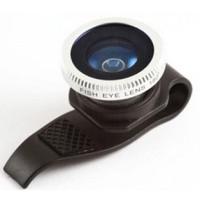 Jual OlloClip Lesung Clip Filter Fisheye Lens Lensa No 7 HP iPhone Android Murah