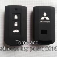 Silicone Key/Kondom/Sarung Kunci Mobil Pajero 2016/Outlander