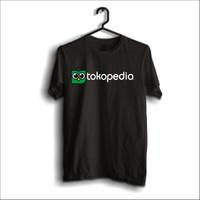Kaos Toko Pedia logo merchandise 100% cotton combed terlaris
