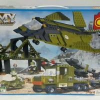 Build Blocks Lego Bricks Cogo Army Action 3301