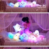 Bantal Lampu Unik Kado Hadiah Anak Lucu Emitting Pillow Plush Toys