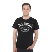 Tshirt / Kaos / Baju Jack Danils - Hitam
