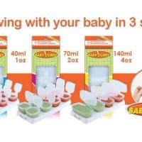 baby cubes container mpasi/tempat penyimpan mpasi