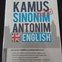Kesaint Blanc - Kamus Praktis Sinonim-Antonim English