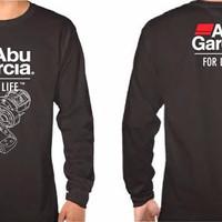 Tshirt / Kaos / Baju ABU GARCIA LONG FOR LIFE SLEEVE - Jersey Outfit -