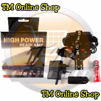High Power Headlamp 0181 / Senter Kepala Cree Led Police Q5 Zoom Fokus
