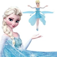 Mainan Peri Terbang Flying Fairy Barbie Frozen Minion Toys Magic Dol