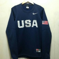 SWEATER TRAINING BASKET USA BASKETBALL GAME 2016 - NAVY