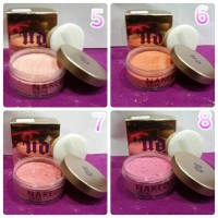 BEDAK POLES AKHIR NAKED SKIN ULTRA DEFINION LOOSE FINISHING POWDER nkd