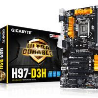Gigabyte Motherboard H97M-D3H Socket 1150