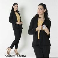 Baju Atasan Blouse batik Hamil Dan Menyusui Nyonya Nursing Wear Nayara