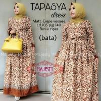gamis batik tapasya dress cantik 3warna