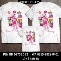 Baju Kaos Keluarga   Kaos Ultah   Kaos Couple   Motif Little Pony 5