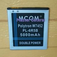 Baterai Polytron W7452 / W 7452 Pl-6r5b Quadra S2 Double Power