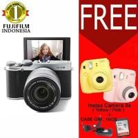 FUJIFILM XA2 X-A2 16-50MM F.35 SILVER_Free SDHC 16GB FUJIFILM XA