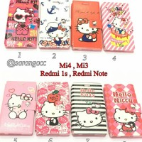 harga SARUNG LEATHER FLIP CASE COVER HELLO KITTY KANCING XIAOMI MI4 MI 4 Tokopedia.com