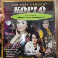 VCD KARAOKE V.A. - THE BEST DANGDUT KOPLO (MIRNAWATI, RANA R, NADA S)