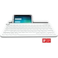 Logitech Bluetooth Multi Device Keyboard - K480 - White