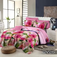 Khawla My Love Set Sprei & Bedcover King Size