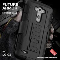 LG G3 Shockproof Future Armor Hybrid Hard & Soft Case Casing D855