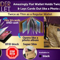 Jual Wonder Wallet - Isi 24 kartu / Dompet Kartu Atm / card holder Murah