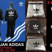 harga Jas Hujan Adidas - 1 set baju & celana - Termurah ! Tokopedia.com