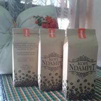 Jual KOPI BUBUK SUPER 250 gr Robusta Coffee KOPI NDAMPIT Khas Dampit Malang Murah