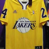 Kaos Basket Lakers, Jersey Basket Lakers, Baju Hip Hop