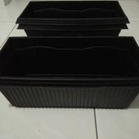 harga Pot Plastik Kotak/Persegi Panjang Hitam Tanam Bunga, Tanaman Hias, dll Tokopedia.com