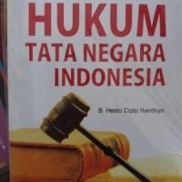 Hukum Tata Negara Indonesia by. B.Hestu Cipto Handoyo