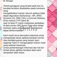 Jual WEBSITE JNE LAGI ERROR - Jakarta Barat - Brillia | Tokopedia