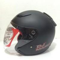 Jual Beli Helm KYT DJ Maru Solid Baru | Helm Full Face / Half Face M