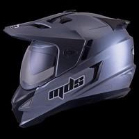 Jual Beli helm mds Super Pro Solid Gunmetal Baru | Helm Full Face /