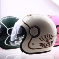 Jual Helm GM Vint Buat Kalian Yang Demen Gaya Klasik Baru | Helm Ful