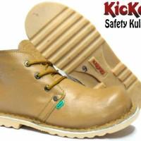 Sepatu Boots Kulits Safety Kickers