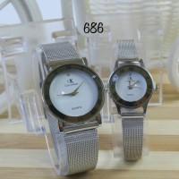 jam tangan couple CK / jtr 686