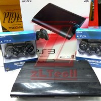 PS3 SUPERSLIM / Super Slim 500GB +2 Stick Wireless FULL Game CFW