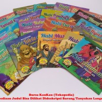 Buku Cerita / Dongeng Anak Bergambar Seri Nabi - Nabi