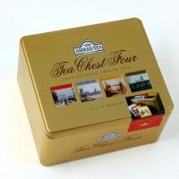 Ahmad Tea London Chest Four Exclusive English Teas 80 g // Teh Herbal