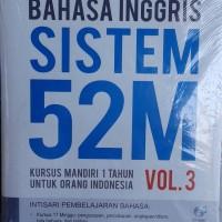 Buku Bahasa Inggris Sistem 52M Kursus Mandiri 1 Tahun Vol. 3
