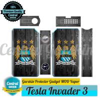Garskin Mod vapor Tesla Invader 3 - CITY