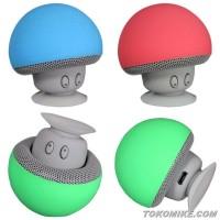 Jual Portable Speaker Mini Bluetooth Bentuk Jamur Murah