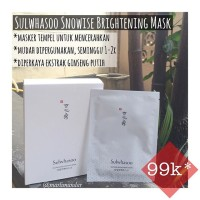 Sulwhasoo Snowise Brightening Mask 1pc
