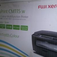 harga Printer Laser Warna Print Scan Copy Wireless FujiXerox CM115w Tokopedia.com