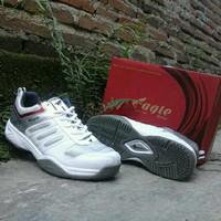 gratis ongkir sepatu eagle original buat voli badminton tenis pingpong