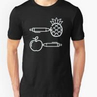 Tshirt Pen Pineapple Apple Pen -geminicloth