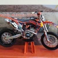 harga Miniatur Diecast Motor Trail Cross KTM 250 SX-F Marvin Musquin Murah Tokopedia.com