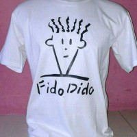 kaos fido dido/t-shirt fido dido