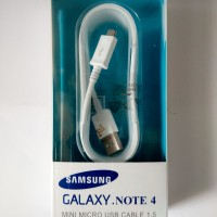 Kabel Data Cable Mini Micro USB SAMSUNG NOTE S 4 5 6 7 Fast charge ori