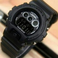JAM TANGAN SPORTY G-SHOCK DW-6900 FULL BLACK